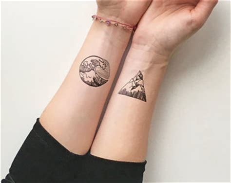 mountain tattoo etsy