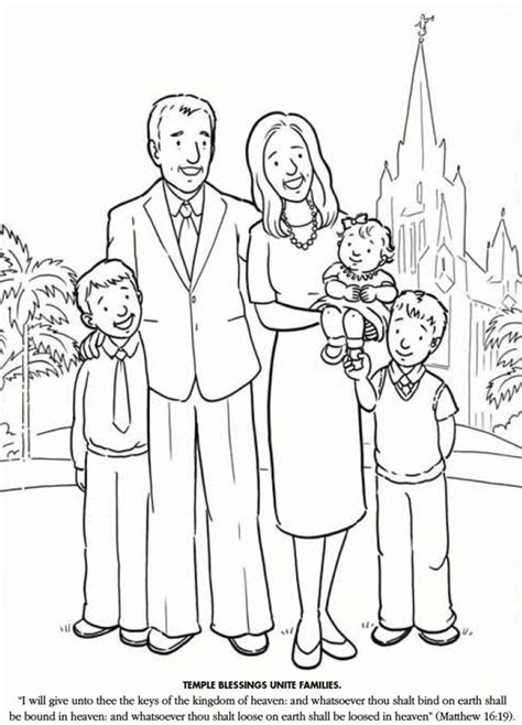lds coloring pages blessings pinterest the world s catalog of ideas