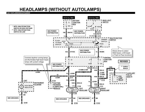 2001 sport trac multifunction switch wiring diagram 2001