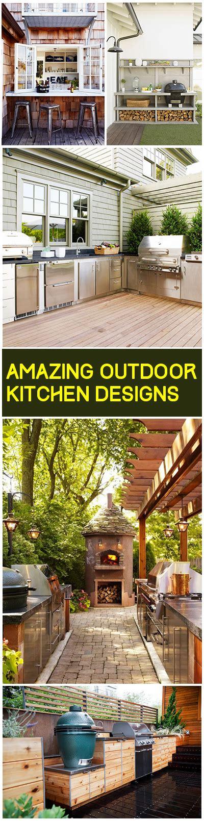 Amazing Outdoor Kitchen Designs amazing outdoor kitchen ideas bless my weeds