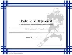 Football Certificates Templates Pics Photos Football Award Certificates