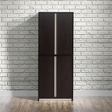particle board cabinet doors home styles 15 75 in x 24 in x 64 5 in montego bay one door multi purpose storage cabinet