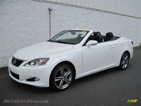 white lexus is 250 2012 2012 lexus is 250 c convertible in starfire white pearl