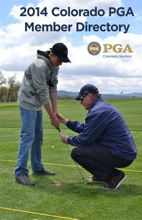 2014 Colorado Pga Member Directory June Update By