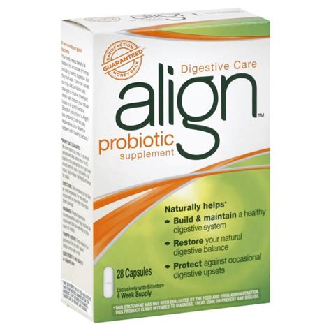 Ascended Health Active Detox Probiotic by Align Probiotic Supplement Capsules 28 Capsules Health
