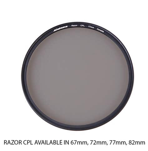 Athabasca 82mm Cplw Filter 1 athabasca razor cpl filter 77mm