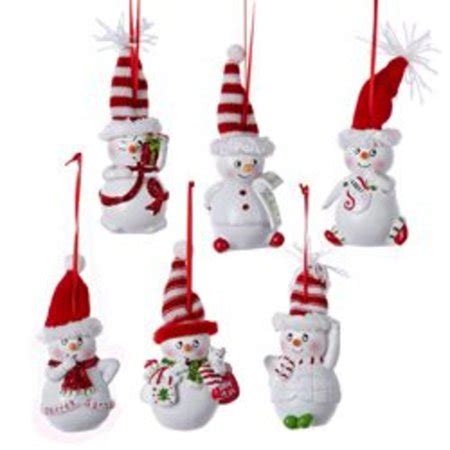 walmart ornaments pack pack of 12 and white gussied up snowmen ornaments 4 5 quot walmart