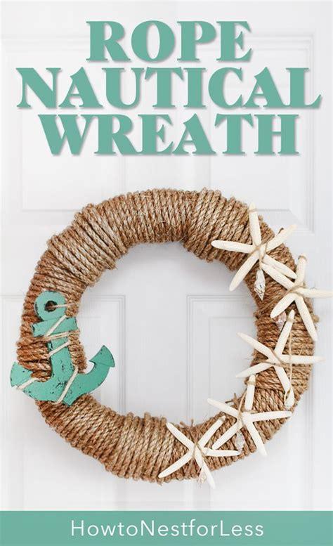 nautical craft projects best 25 wreaths ideas on coastal wreath