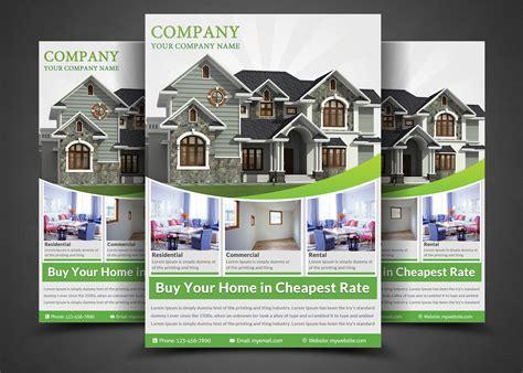 real estate flyer template real estate flyer template flyer templates on creative