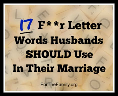4 Letter Words Using Empty 17 four letter words husbands should use in marriage for