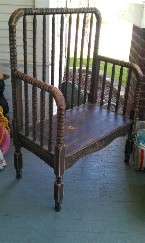 baby bench bench made from baby bed f00ds pinterest baby beds