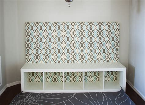 Diy Banquette Seating With Storage by Diy Banquette Seat Expedit Kallax Hack Melodrama
