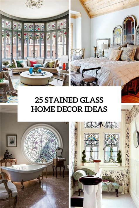 glass decorations for home 25 stained glass ideas for indoor and outdoor home decor