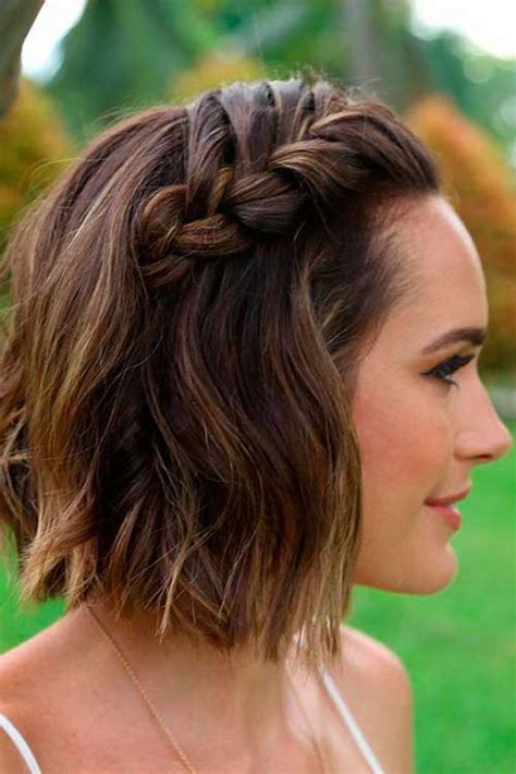 black tie hair styles for very short hair different braided short hairstyles ideas short
