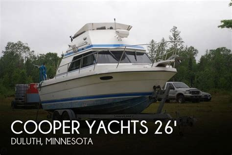 boats for sale duluth mn canceled cooper yachts prowler 8 meter boat in duluth mn