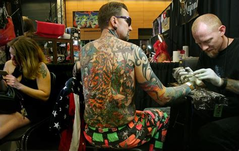 tattoo convention fargo seattle tattoo expo is equal parts pain beauty