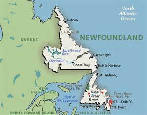 newfoundland map canada cabot adventure timeline on tripline