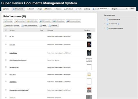 Open Source Document Management Server