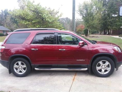 how to sell used cars 2007 gmc acadia spare parts catalogs buy used 2007 gmc acadia slt in lancaster south carolina united states
