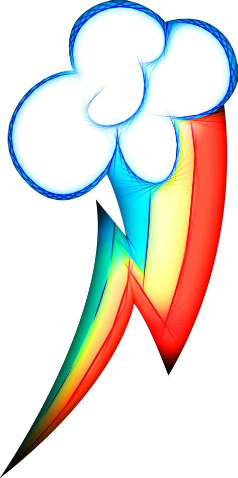 my little pony cutie mark tattoos neon rainbow dash s cutie akvis abstract neon my
