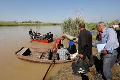 bridge offers escape out of mosul world affairs