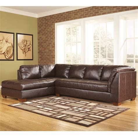 ashley furniture leather chaise signature design by ashley fairplay sectional with left