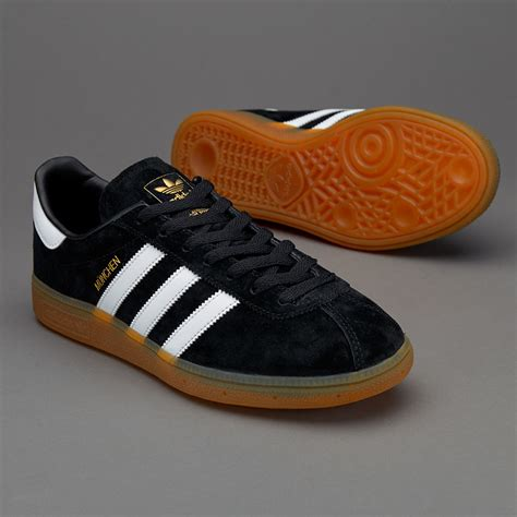 Sepatu Adidas Munchen sepatu sneakers adidas originals munchen black