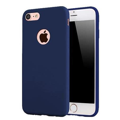 Iphone 6 Softcase Squishy tic protector de silicona para iphone 6 6s plus azul