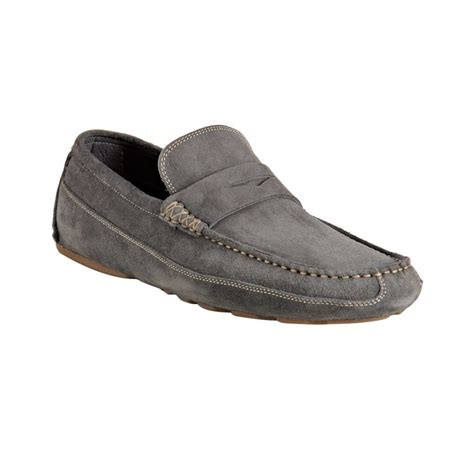 grey suede loafers harry s of grey suede driving loafers in