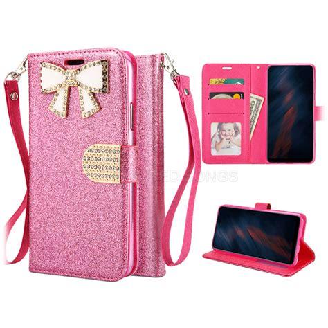 samsung galaxy  ultra   sparkle diamond wallet case