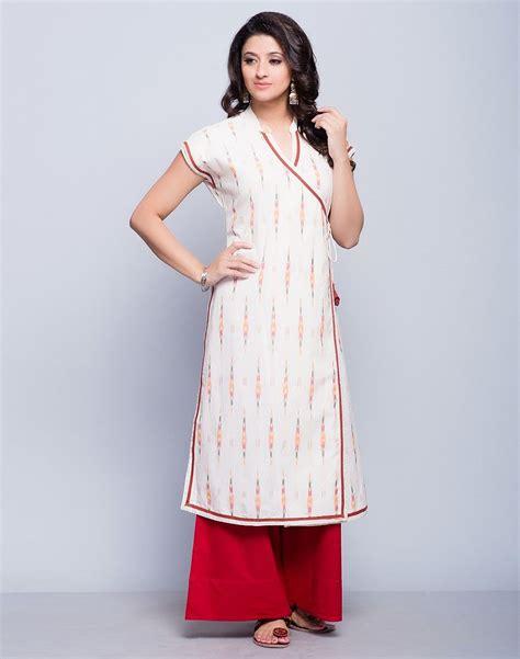 kurta sleeve pattern cotton ikat anghrakha magyar sleeves long kurta stylista