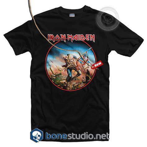 T Shirt The Iron the trooper iron maiden t shirt band tees merch t shirt