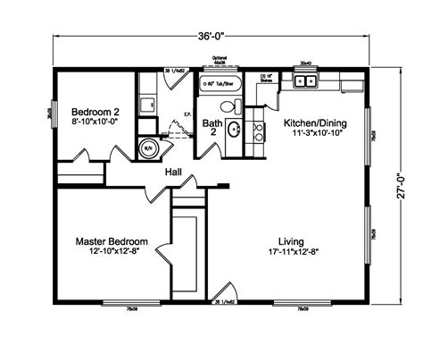 floorplan or floor plan the d river 4g28362a manufactured home floor plan or
