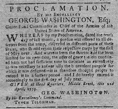 revolutionary war newspaper template george washington 1779 pennsylvania packet original