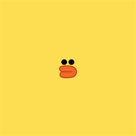 wallpaper cute line i love papers ba79 cute line charactor yellow duck