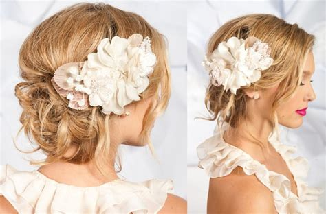 Wedding Hairstyles With Flower Accessories by Tessa Wedding Hair Accessories And Veils Ada Wedding