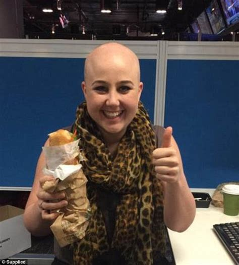 completely bald women katie hale lost her hair to alopecia but now feels more