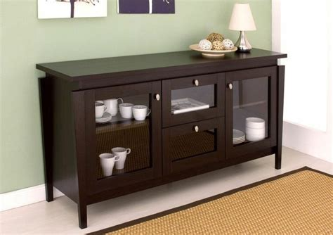 Buffet Table Cabinet Consloe Server Sideboard Dining Room Modern Buffet Table Furniture