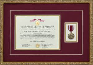 meritorious service medal citation template meritorious service medal custom framed with award