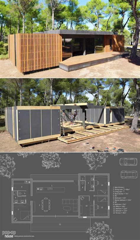 popup house m 225 s de 1000 ideas sobre casa prefabricada en pinterest