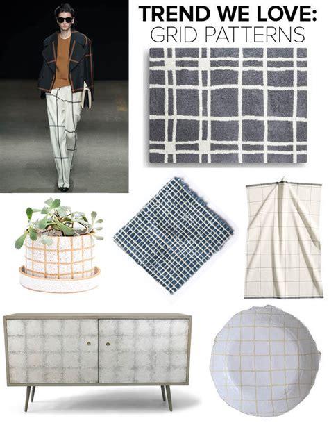 grid pattern trend trend we love grid patterns trends we love lonny