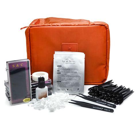 kit professional new professional portable eyelashes extension kit false