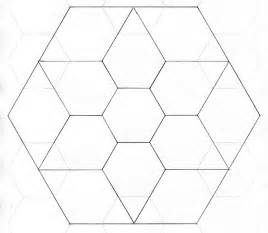 Hexagon Templates For Paper Piecing by Paper Piecing Template Template