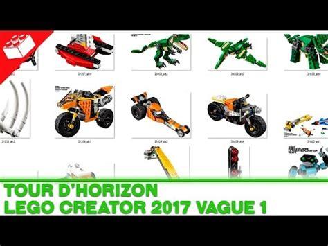 theme creator horizon tour d horizon lego creator 2017 vague 1 fran 231 ais
