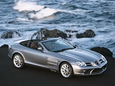 mercedes slr mclaren roadster technical details