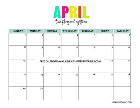 printable calendar 2018 colorful printable calendar 2018 in full colors free to print
