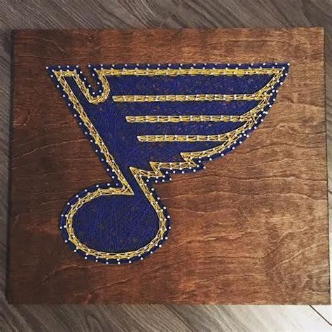 St Louis Blues Nail
