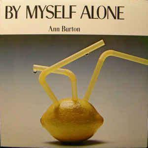 Kaos Burton High Quality Lp burton by myself alone vinyl lp album at discogs
