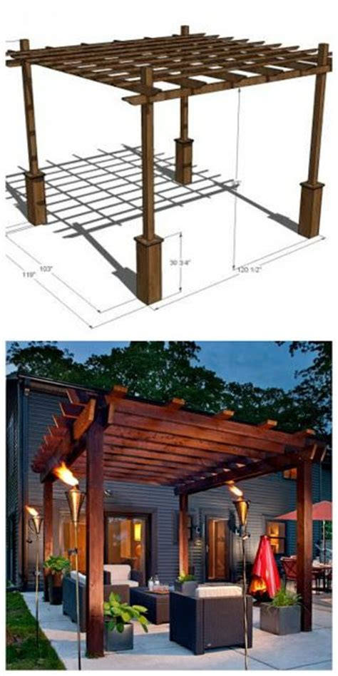 Pergolas Build Your Own And How To Build On Pinterest How To Build Your Own Pergola