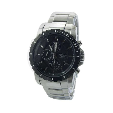 Alexandre Christie Ac6141 Jam Tangan Pria Silver Stainless Steel jual alexandre christie 6141 mcbtbba jam tangan pria silver black harga kualitas